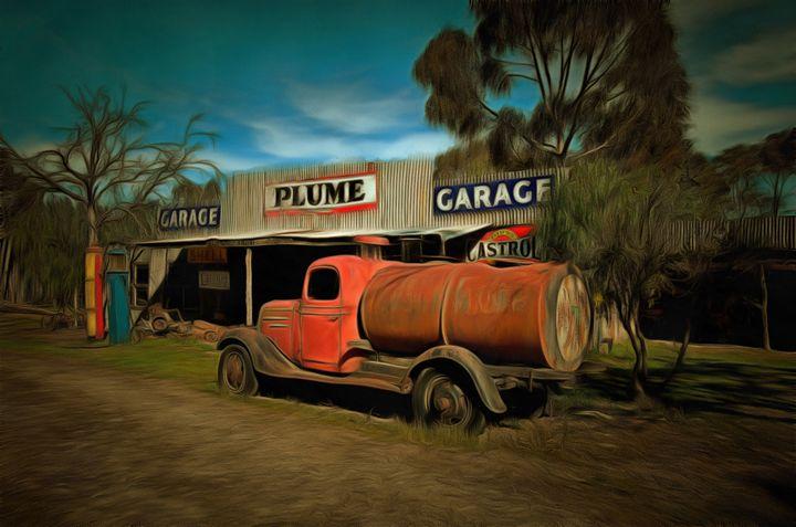 Old Motor Garage - Alan Carson