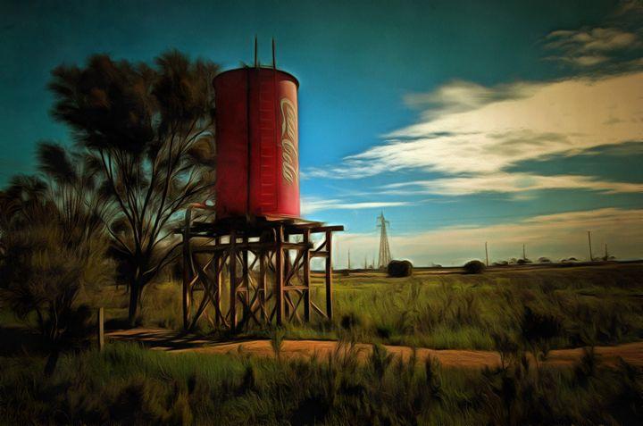 Water Tower - Alan Carson