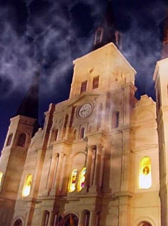 Saint Louis Cathedral - Castle Design Graphics