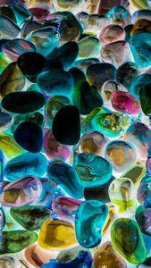 Beautiful Gemstones Colorful in Nola