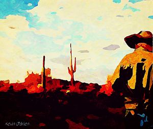 Solitary Cowboy