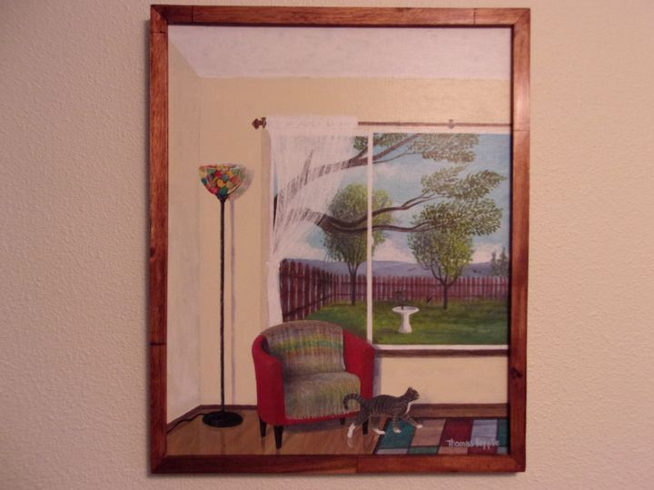 """Punkin's View"" - Tom's Original Art"