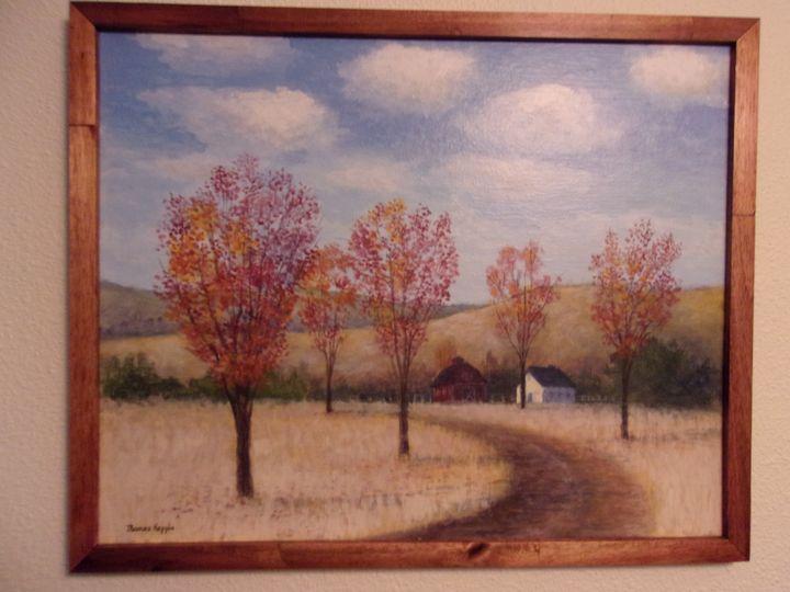 """Fall Drive"" - Tom's Original Art"