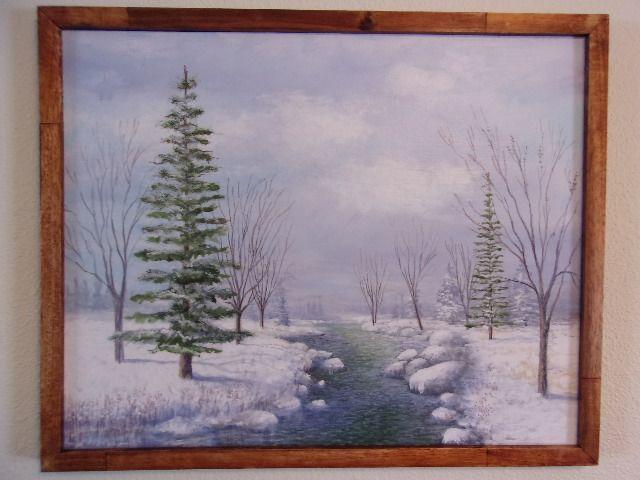 """""""Winter Morning"""" - Tom's Original Art"""