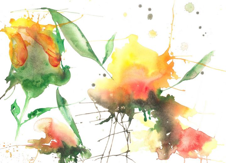 Yellow roses - Robert Czibi Art
