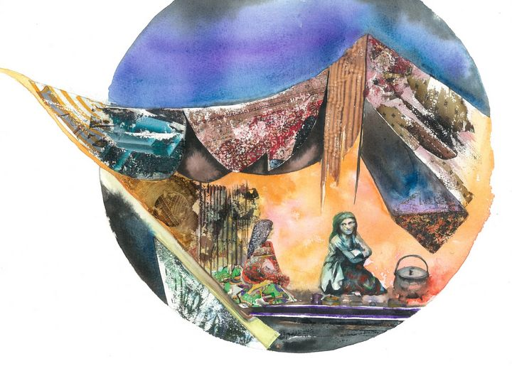 Visiting - Robert Czibi Art