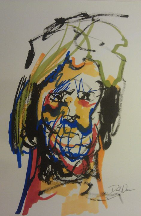 Expressive portrait series - David W Newson