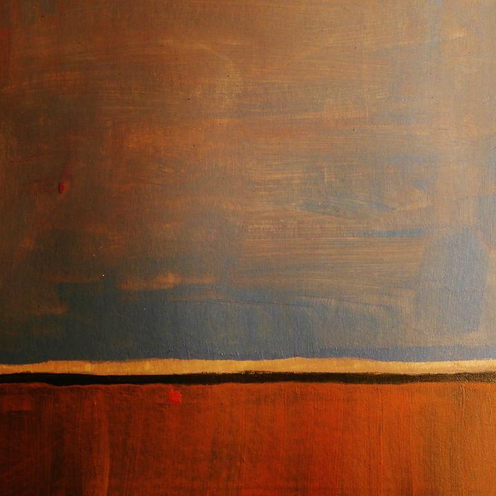Where Liquids and Solids Unite II - Neilus Behan Irish Contemporary Painter
