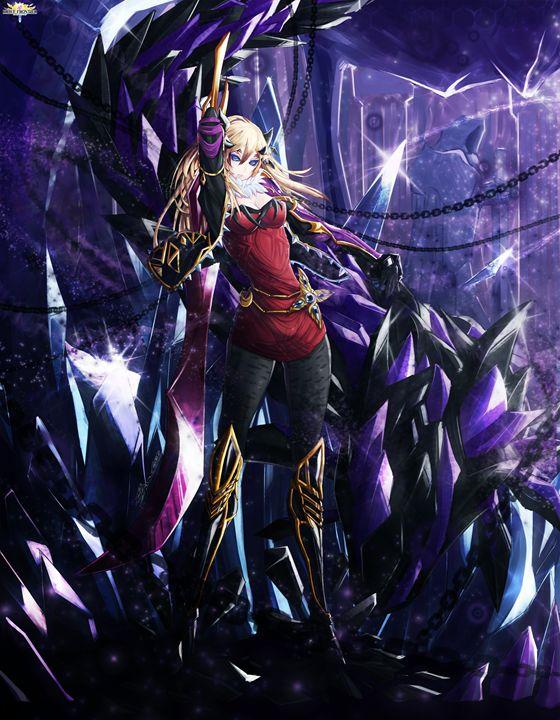 Cataclysm Empress Feeva poster - brave frontier