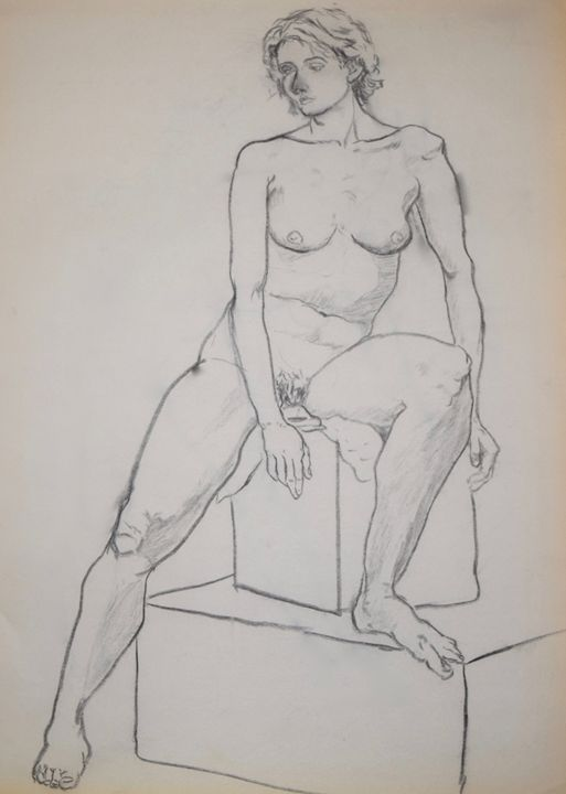 Seated female - Kevin Connolly