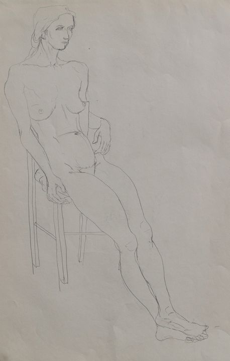 Woman on chair - Kevin Connolly