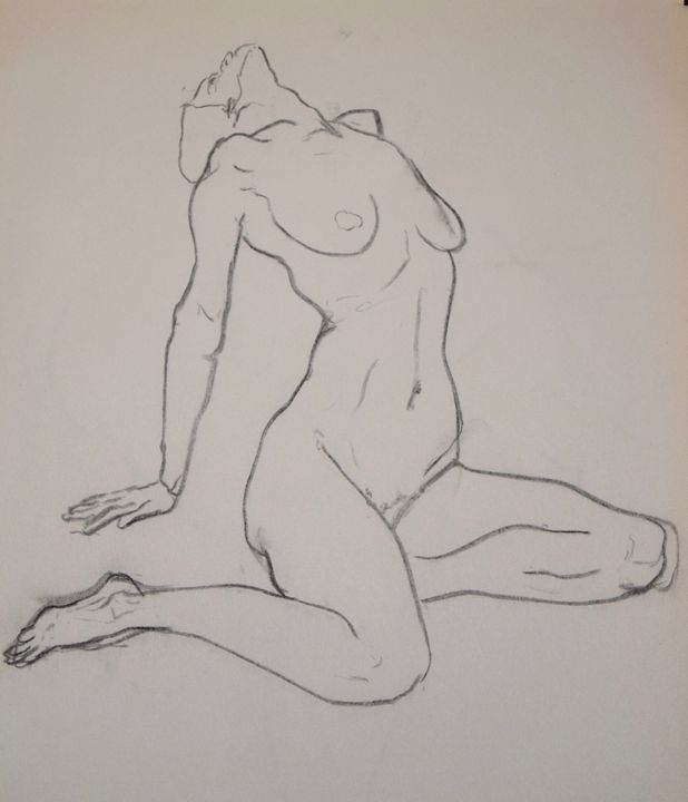 Female nude - Kevin Connolly
