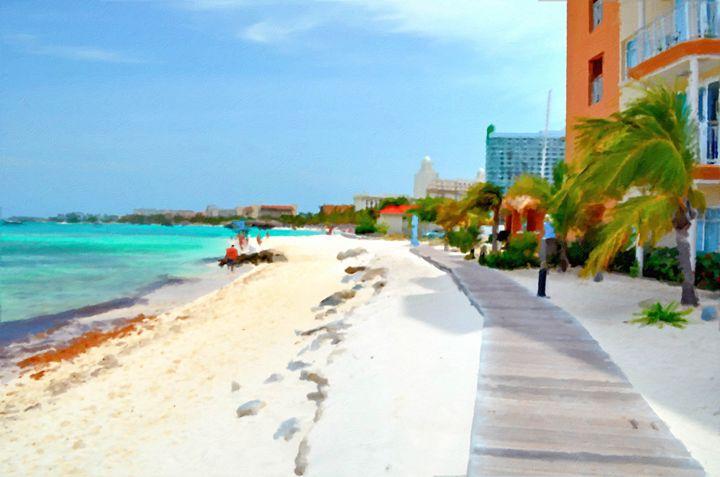 Beach Stroll - Brian Dundee