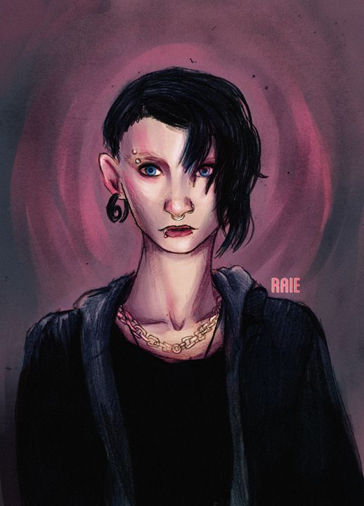 Lisbeth Salander - SharkRAIE