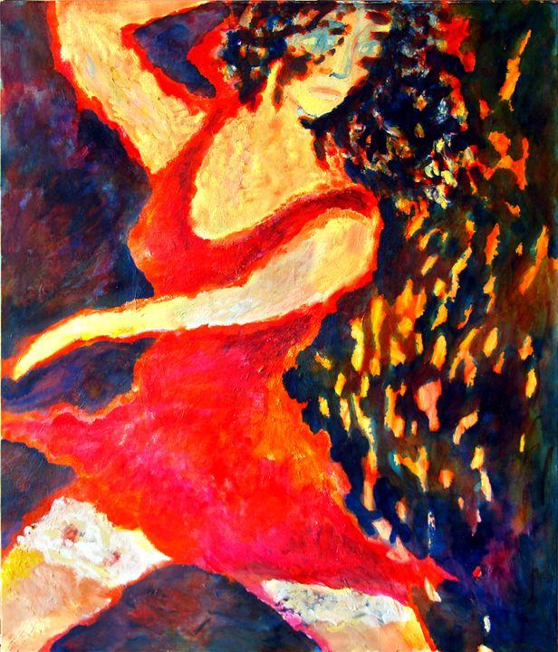 Dancing lady - PetrLdin