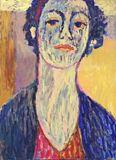 Original Colorful Portrait