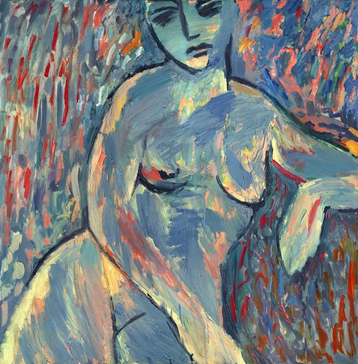Seated Nude - PetrLdin