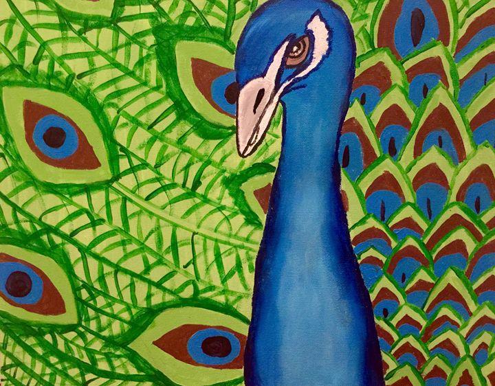 Peacock - Lauren's Art