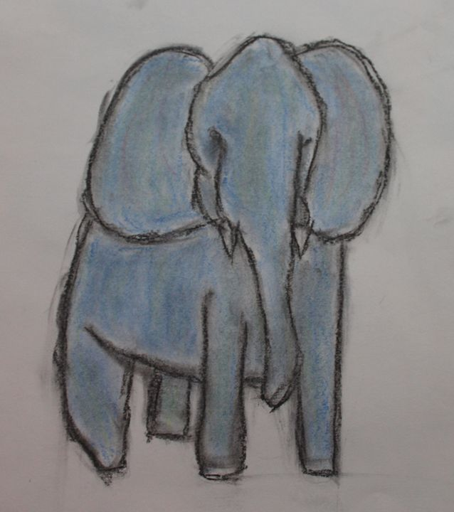Elephant - Lauren's Art