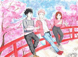Sakura Jujutsu Trio