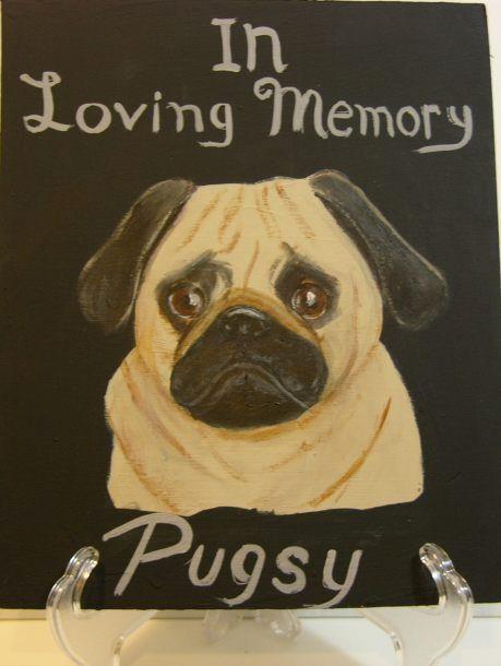 PET MEMORIAL PLAQUE - Lbi Artist Tony Desiderio
