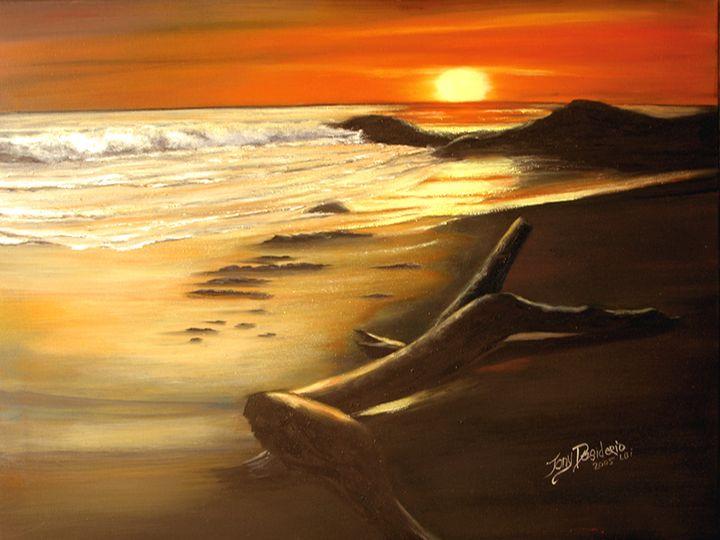 SUNSET BEACH - Lbi Artist Tony Desiderio