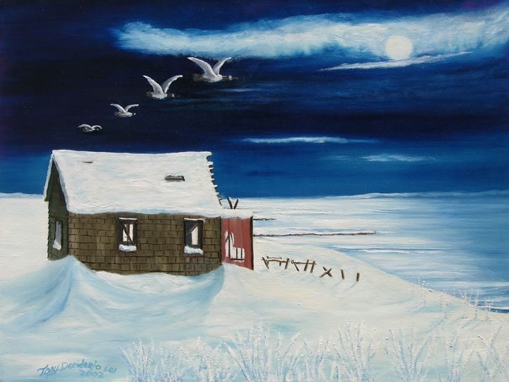 WINTER RETREAT - Lbi Artist Tony Desiderio
