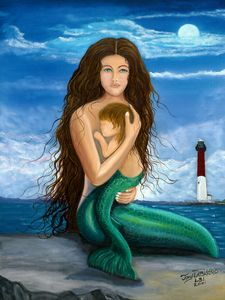 MERMAID OF BARNEGAT LIGHT