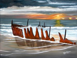 SHIPWRECK ASHORE