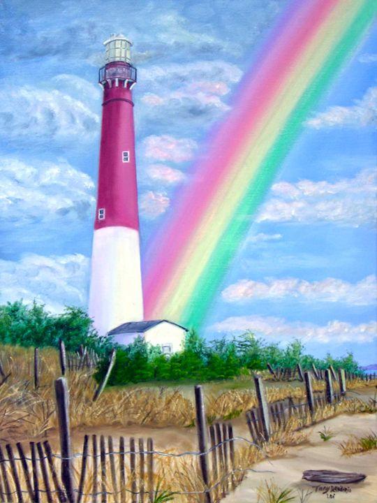 BARNEGAT LIGHT - Lbi Artist Tony Desiderio