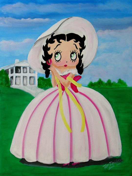 GONE WITH THE WIND BETTY - Lbi Artist Tony Desiderio