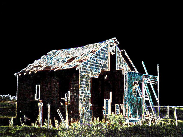 PEARLESCENT SHACK 2001 - Lbi Artist Tony Desiderio