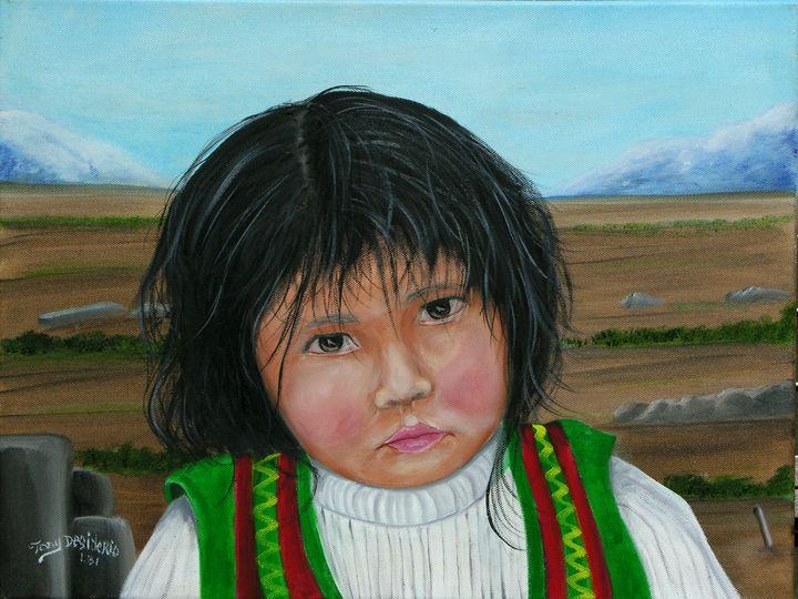 CHILD OF PUNO - Lbi Artist Tony Desiderio