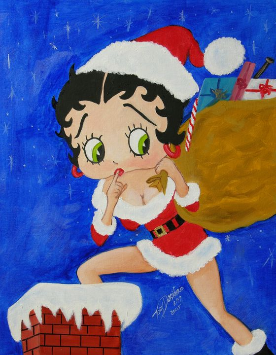 Santa Betty - Lbi Artist Tony Desiderio