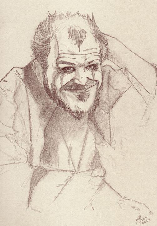 Floki - Portrait Art by Stan Nelson