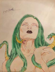 Medusa - Jojo's art