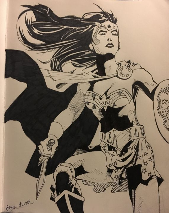 Wonder Woman - Jojo's art