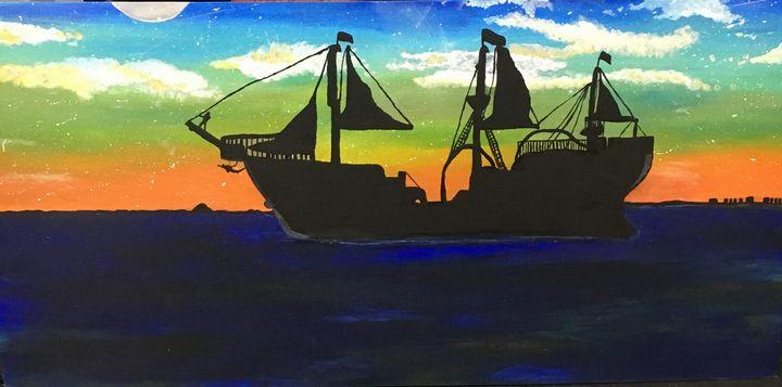 A pirate's life - Jojo's art