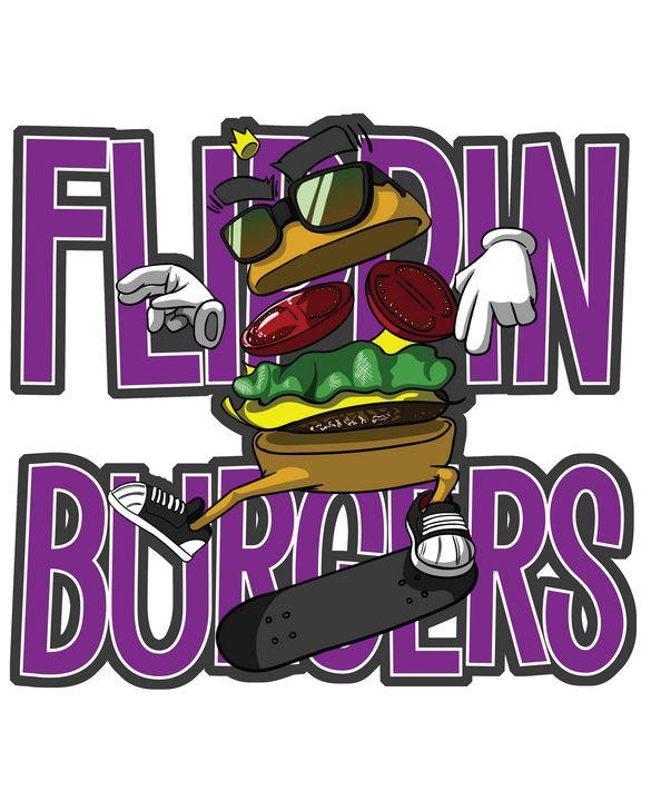 Flippin Burgers - YNS ONE