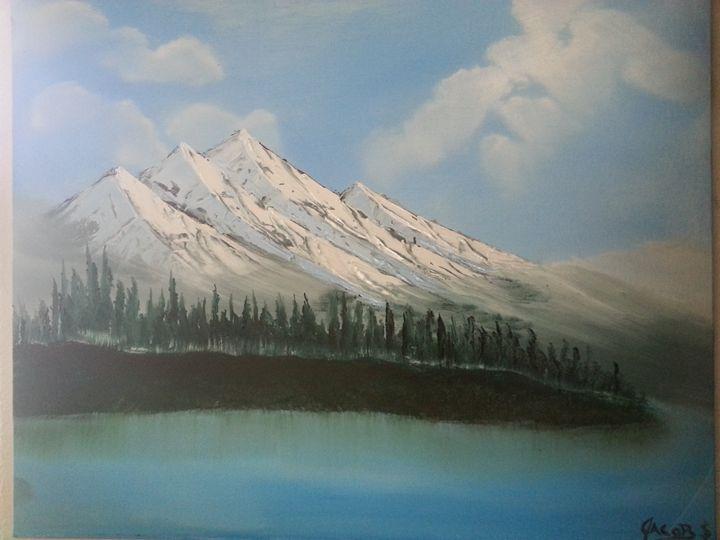 washington mountains - jacoby art/ jacob