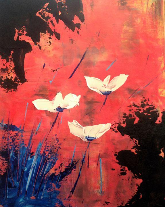Jupiter Blooms - Art by Denise Hayden