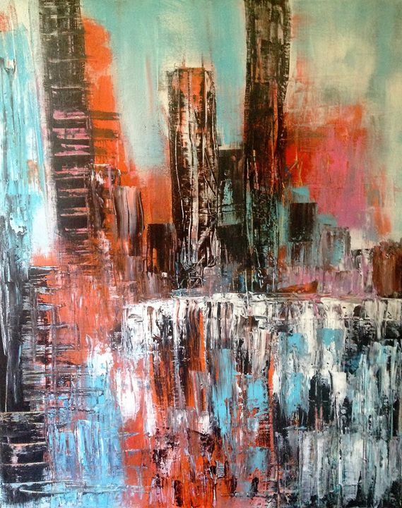 Urban Heat - Art by Denise Hayden