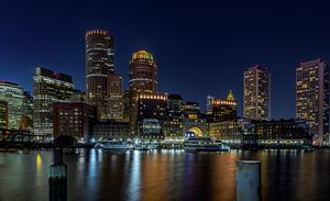 Boston Harbor from Fan Pier