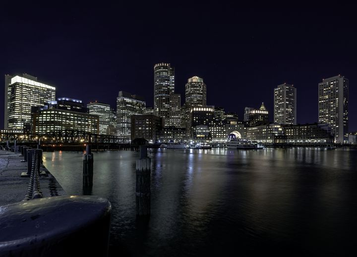 Boston Harbor - M.G. Durant Photography