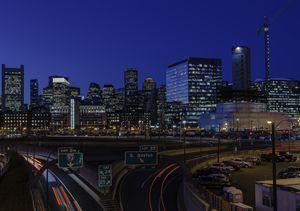 Boston Skyline & Seaport District