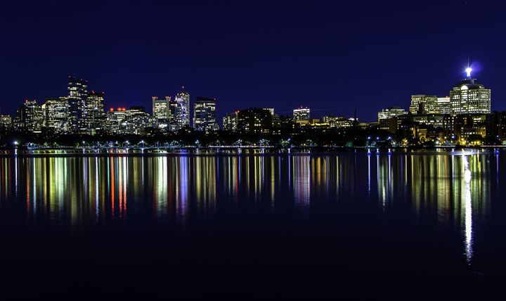 Boston Skyline - M.G. Durant Photography