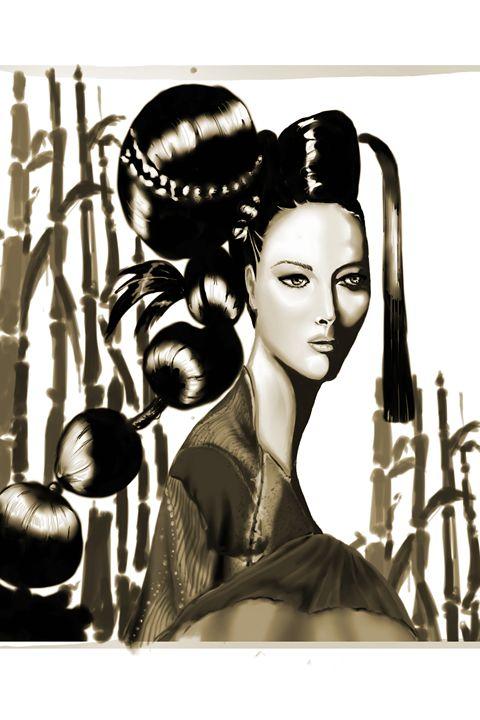Japanese Lady - MyInspiracle