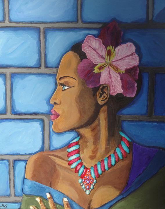 The Creole Flower - Kobberholm Art