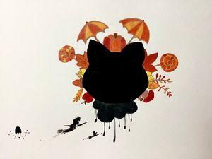 Autumn cats