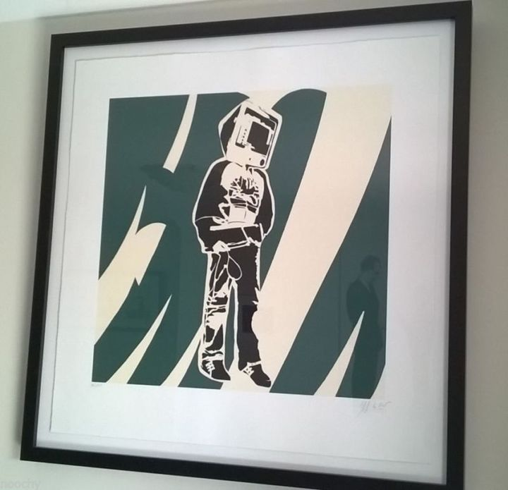 Spaceman Signed Original - L Brown collections